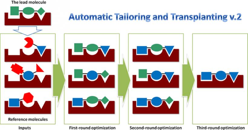 AutoT&T 2.0-高效的药物分子从头设计软件