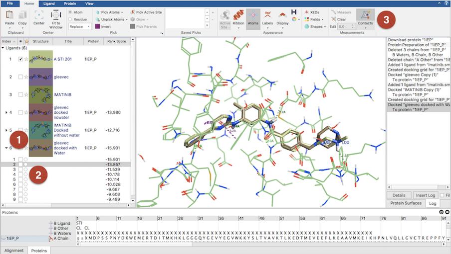 Flare 教程 | 分子对接-结合模式预测-墨灵格的博客
