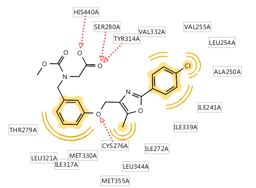 Ligandscout教程 | 2D图展示配体-受体相互作用-墨灵格的博客