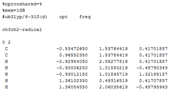 Gaussian教程 | 键解离能的计算-墨灵格的博客