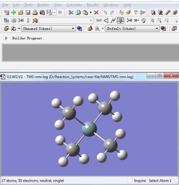 Gaussian教程 | NMR图谱与耦合常数的计算-墨灵格的博客
