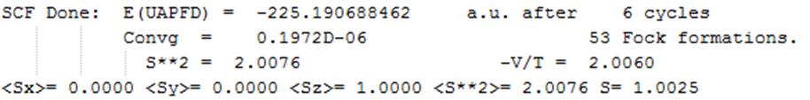 Gaussian教程 | 测试波函数稳定性-墨灵格的博客