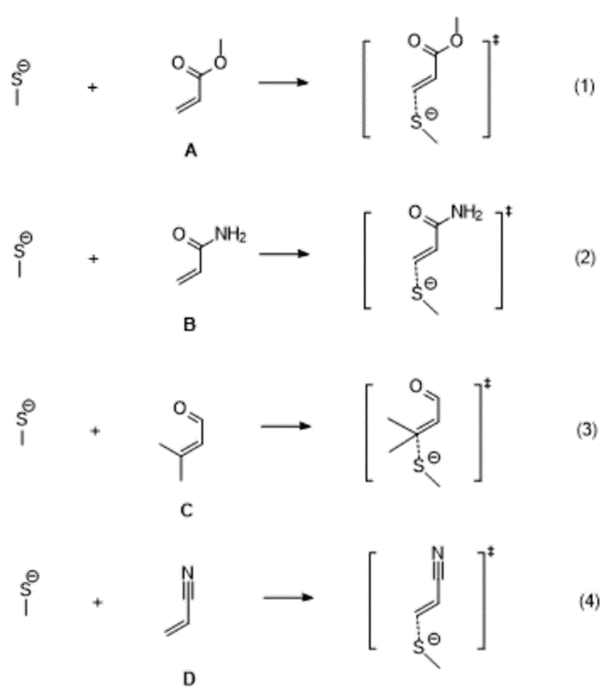 Gaussian教程 | Michael受体与巯基模型的加成反应和反应速率常数的计算-墨灵格的博客
