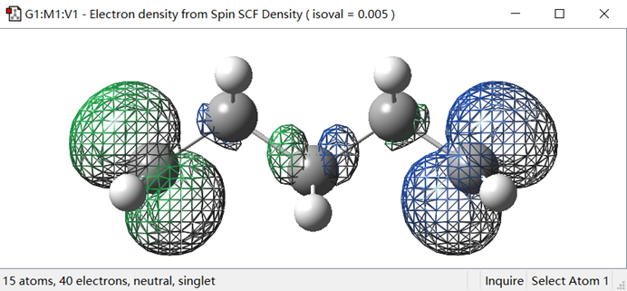 Gaussian教程 | 绘制分子自旋密度图-墨灵格的博客