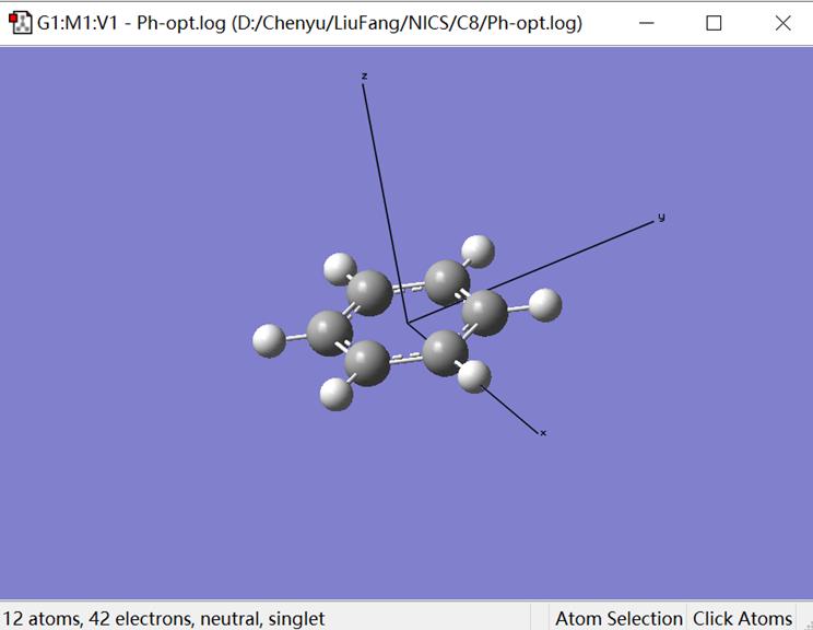 Gaussian教程 | 计算NICS值评估分子体系的芳香性和反芳香性-墨灵格的博客