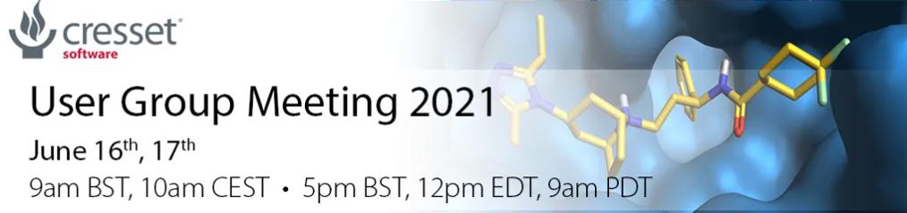 2021年Cresset用户会(UGM2021)-墨灵格的博客