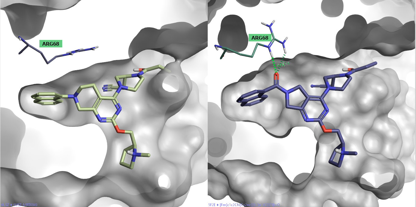 KRAS抑制剂MRTX849骨架跃迁引入新的相互作用-墨灵格的博客