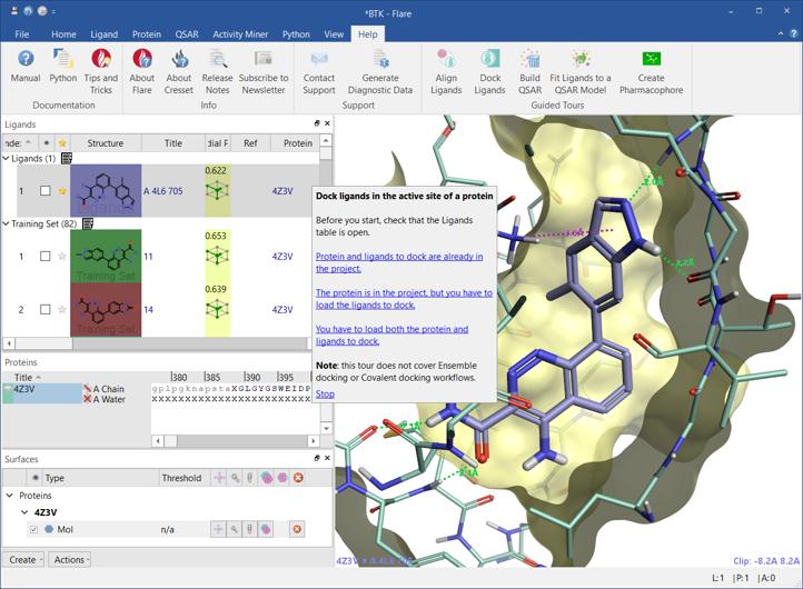 Flare V5先睹为快:您的敏捷药物发现集成平台-墨灵格的博客